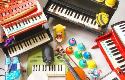 お菓子な楽器隊