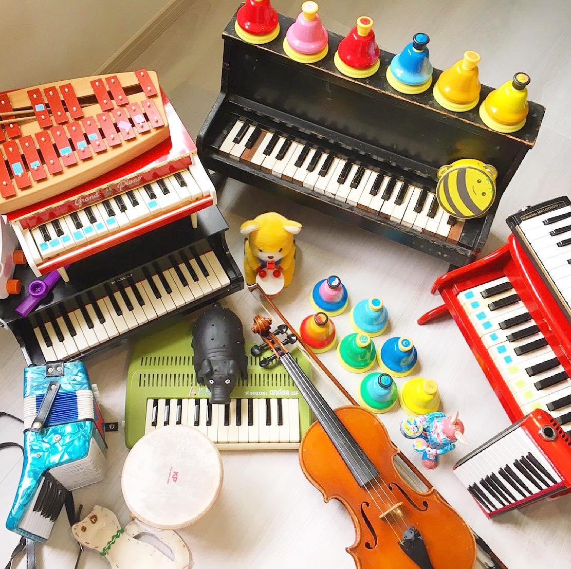 おかしな楽器隊 楽器で遊ぼう!